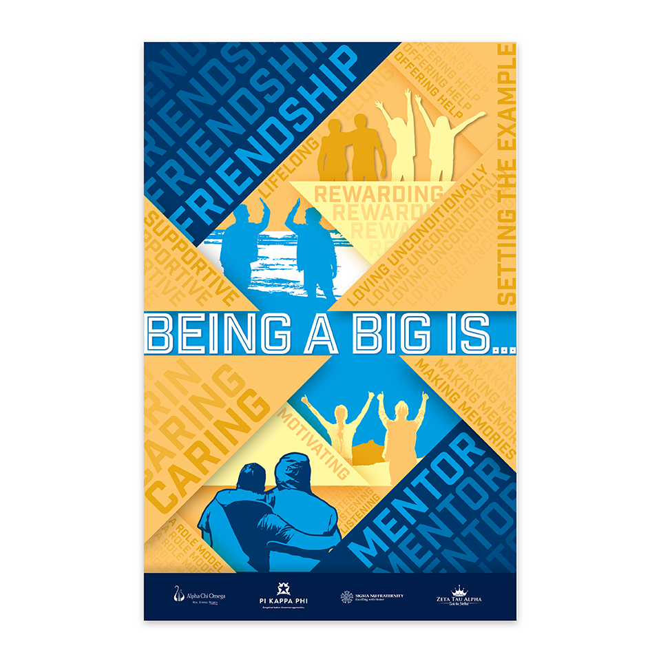 Being a Good Big is... — Poster JPG copy