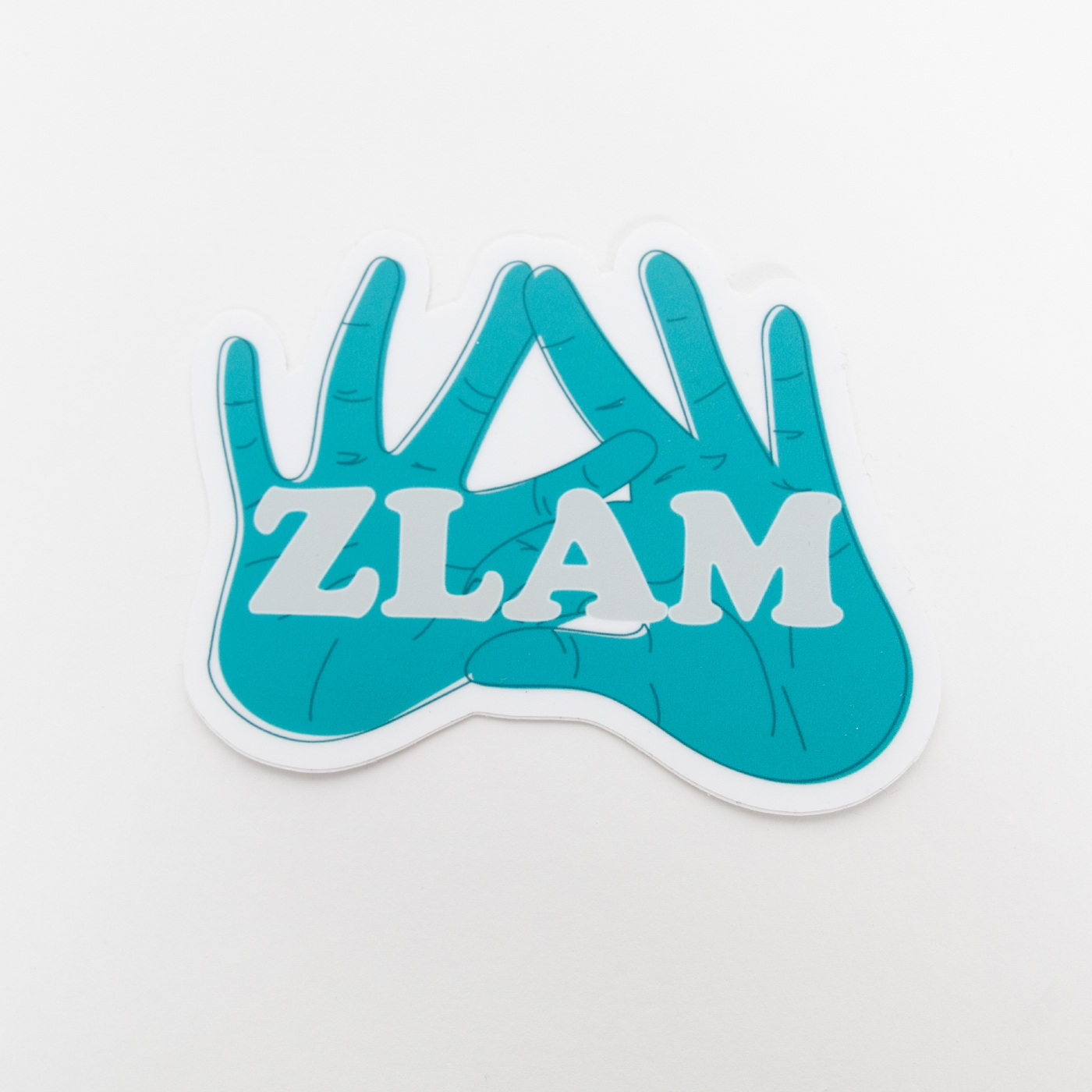 ZLAM Die Cut Sticker