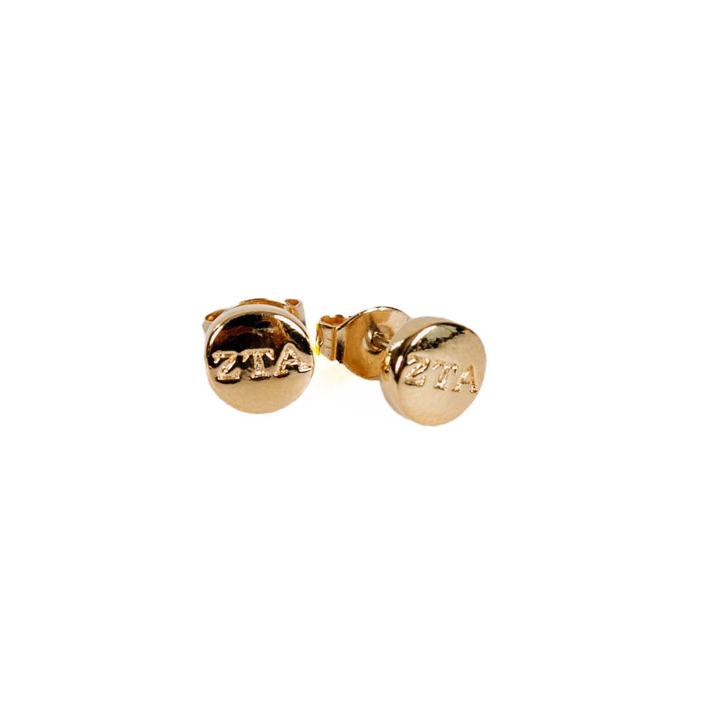 Zeta Mini Stud Earrings