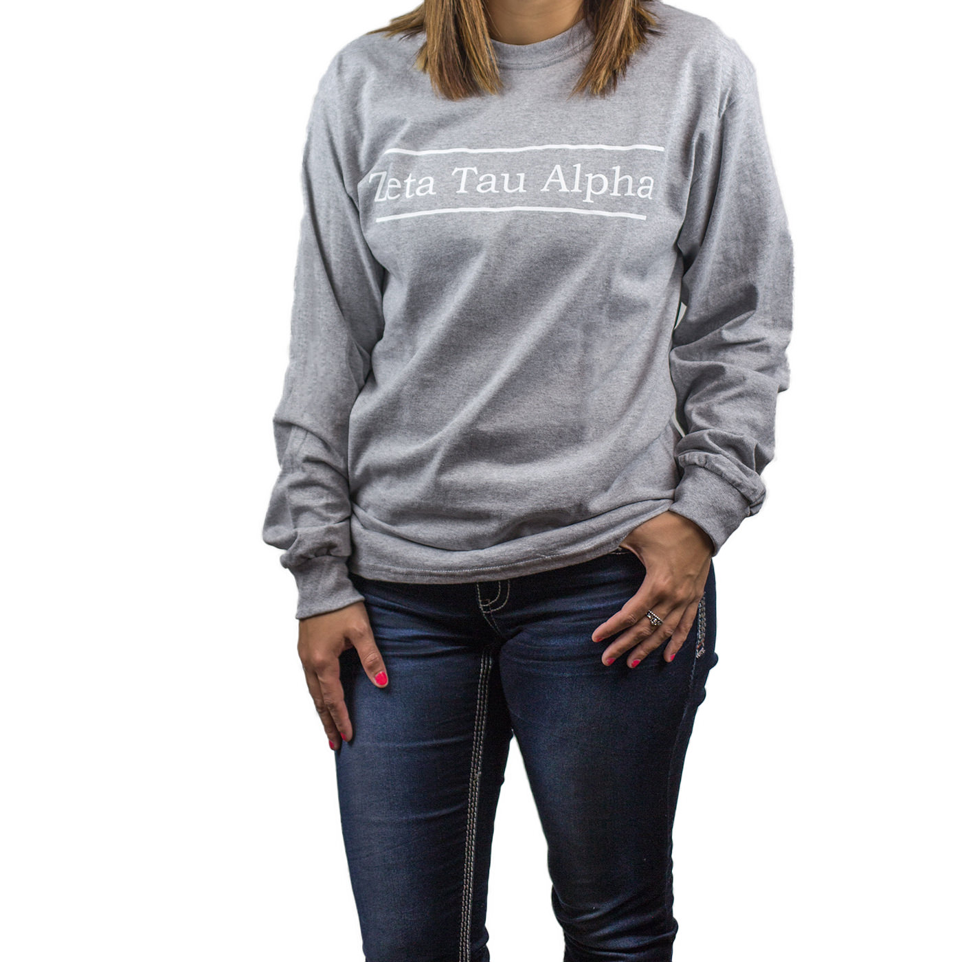 Sport Grey Long Sleeve Tee