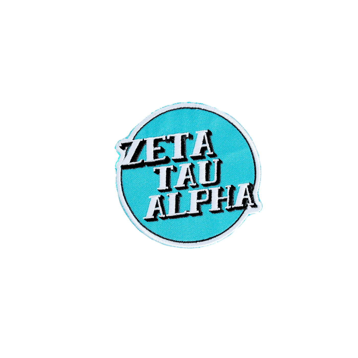 Zeta Tau Alpha Vintage Embroidered Patch