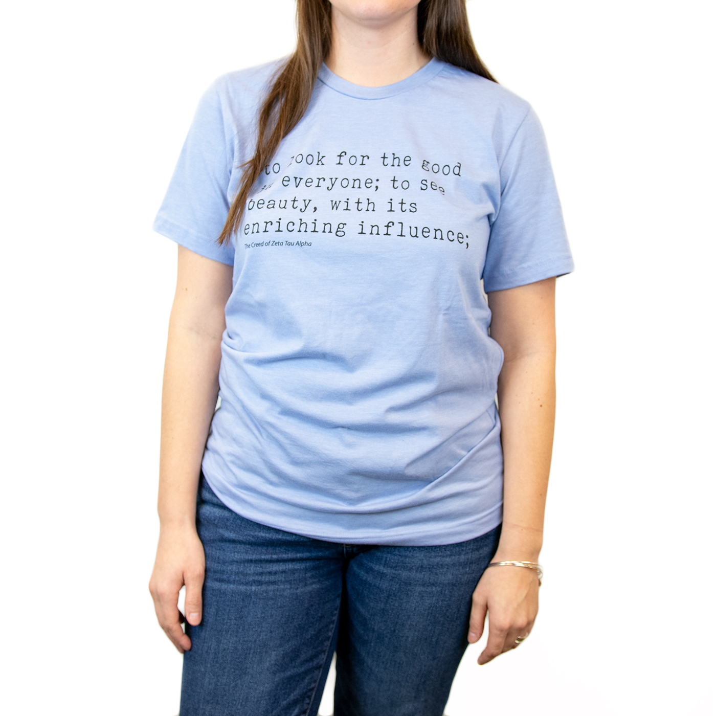 Zeta Tau Alpha Creed Tee