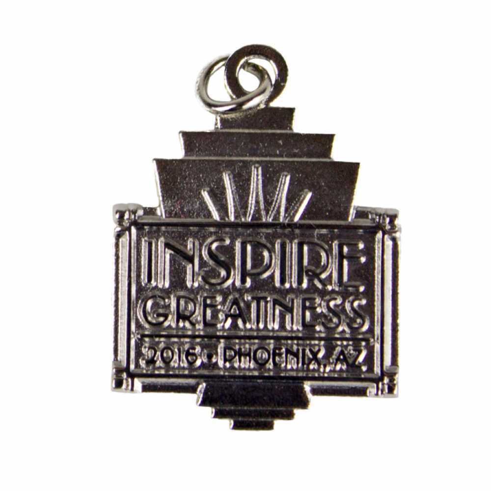 2016 Convention Charm in Silver