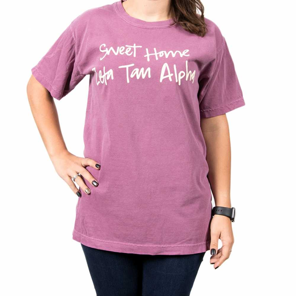 Zeta Tau Alpha Sweet Home Tee