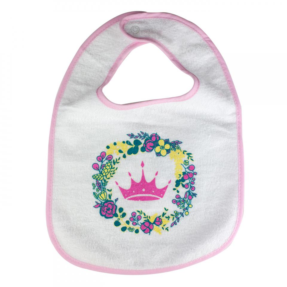 Floral Crown Bib
