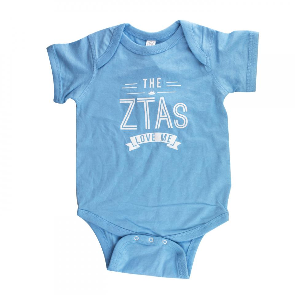 The Zetas Love Me Onesie