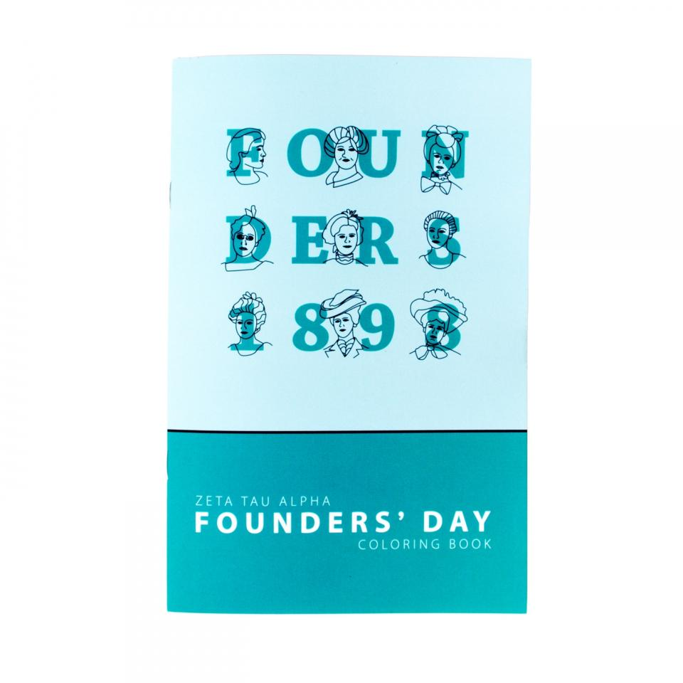 Founders' Coloring Book