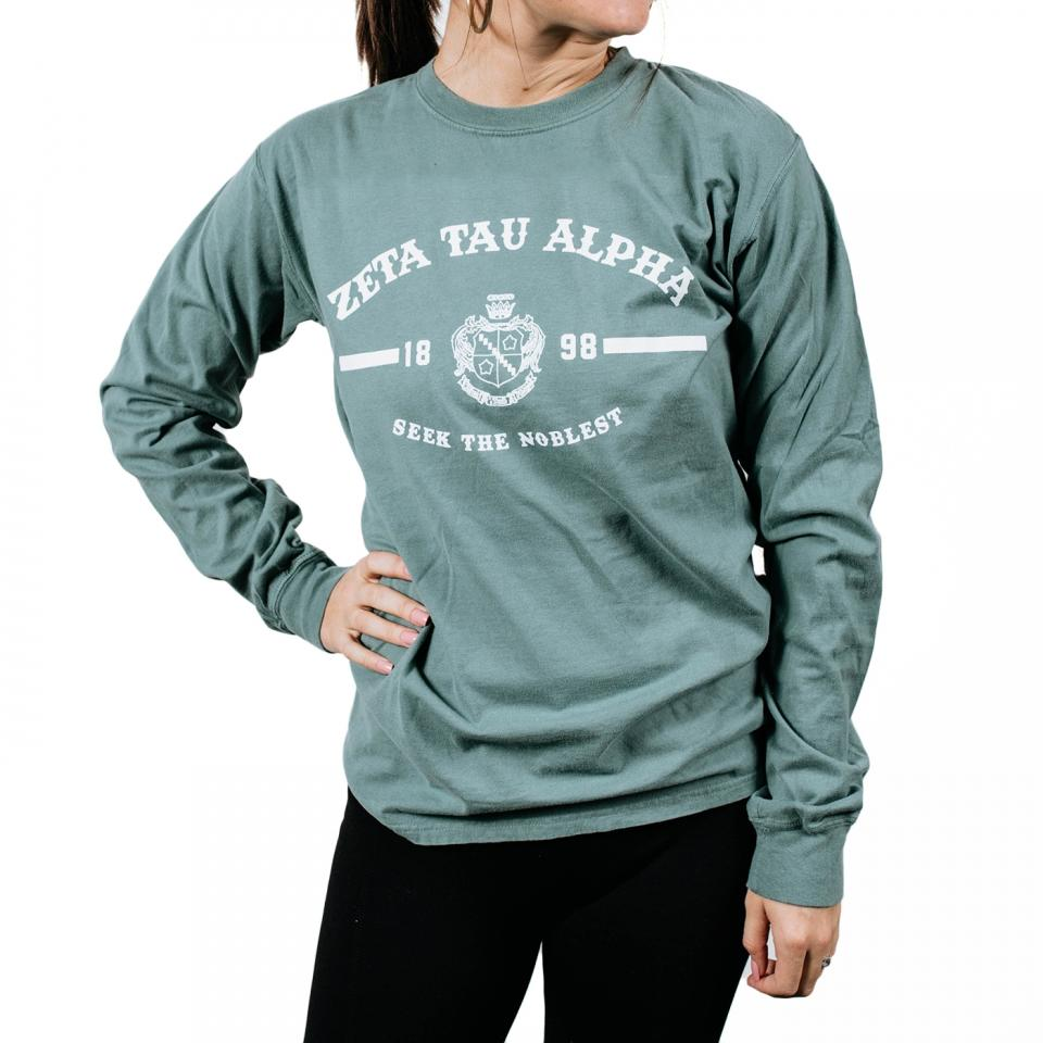 Zeta Tau Alpha Classic Long Sleeve