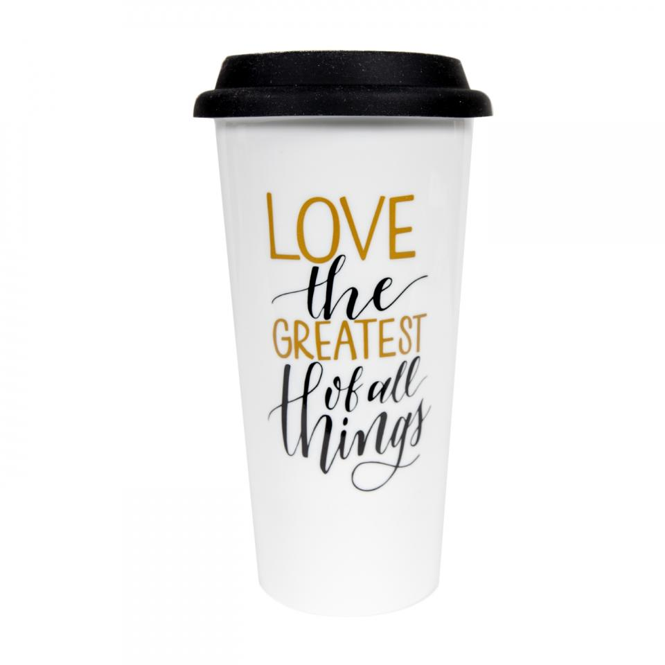 """Love, Greatest of all Things"" Mug"
