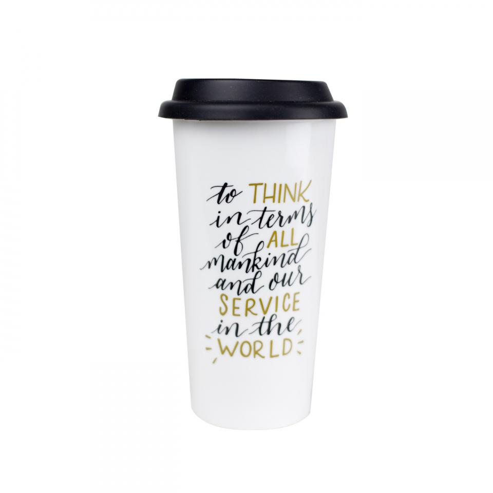 Service Ceramic Creed Mug