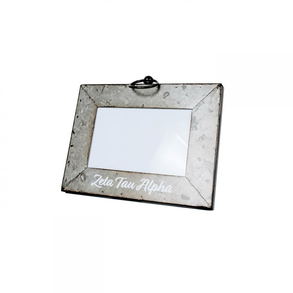 Galvanized Photo Frame