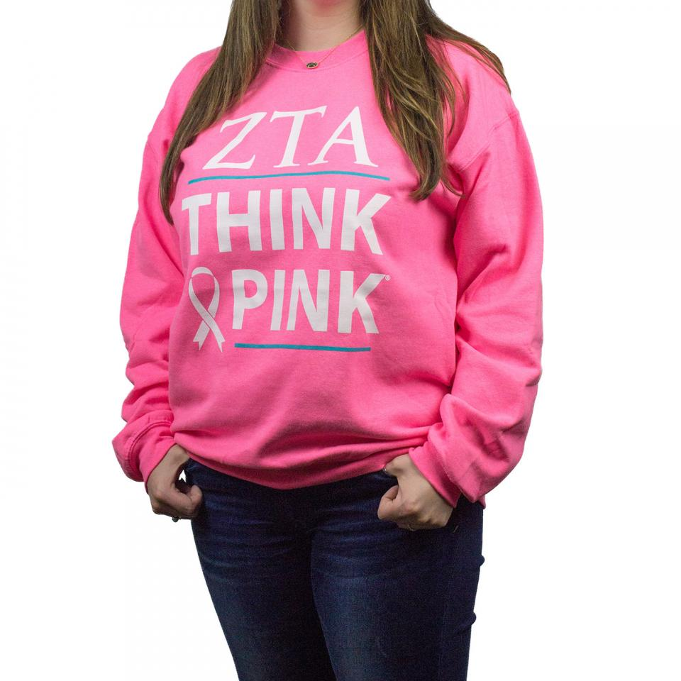 Volunteer Think Pink Sweatshirt