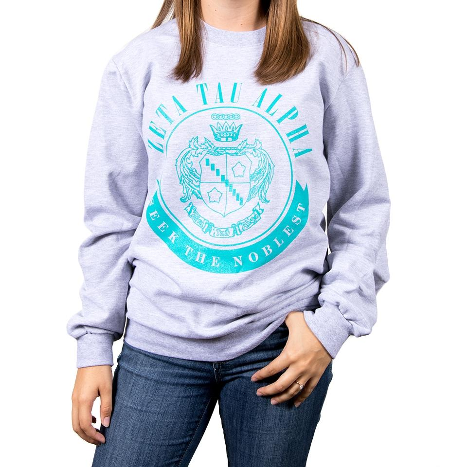 "Zeta Tau Alpha ""Seek the Noblest"" Sweatshirt"