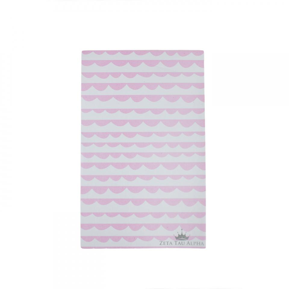Pink Scallop Notepad