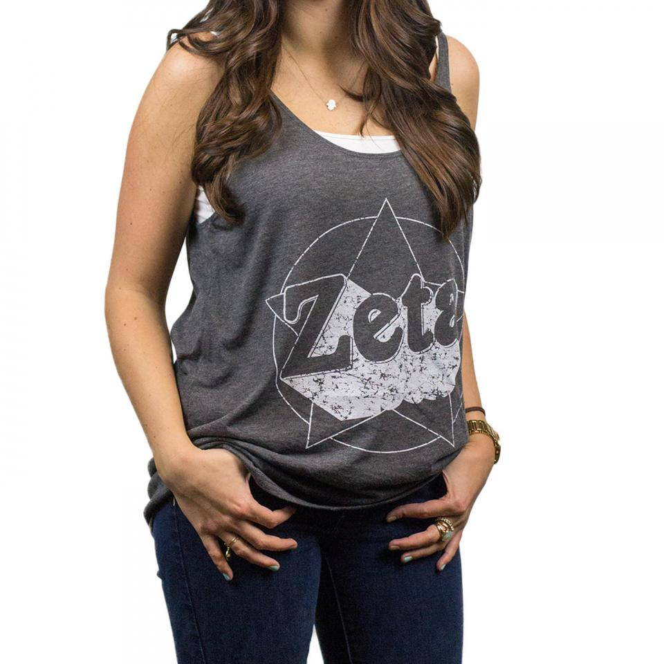 Zeta Tau Alpha Rock Star Tank