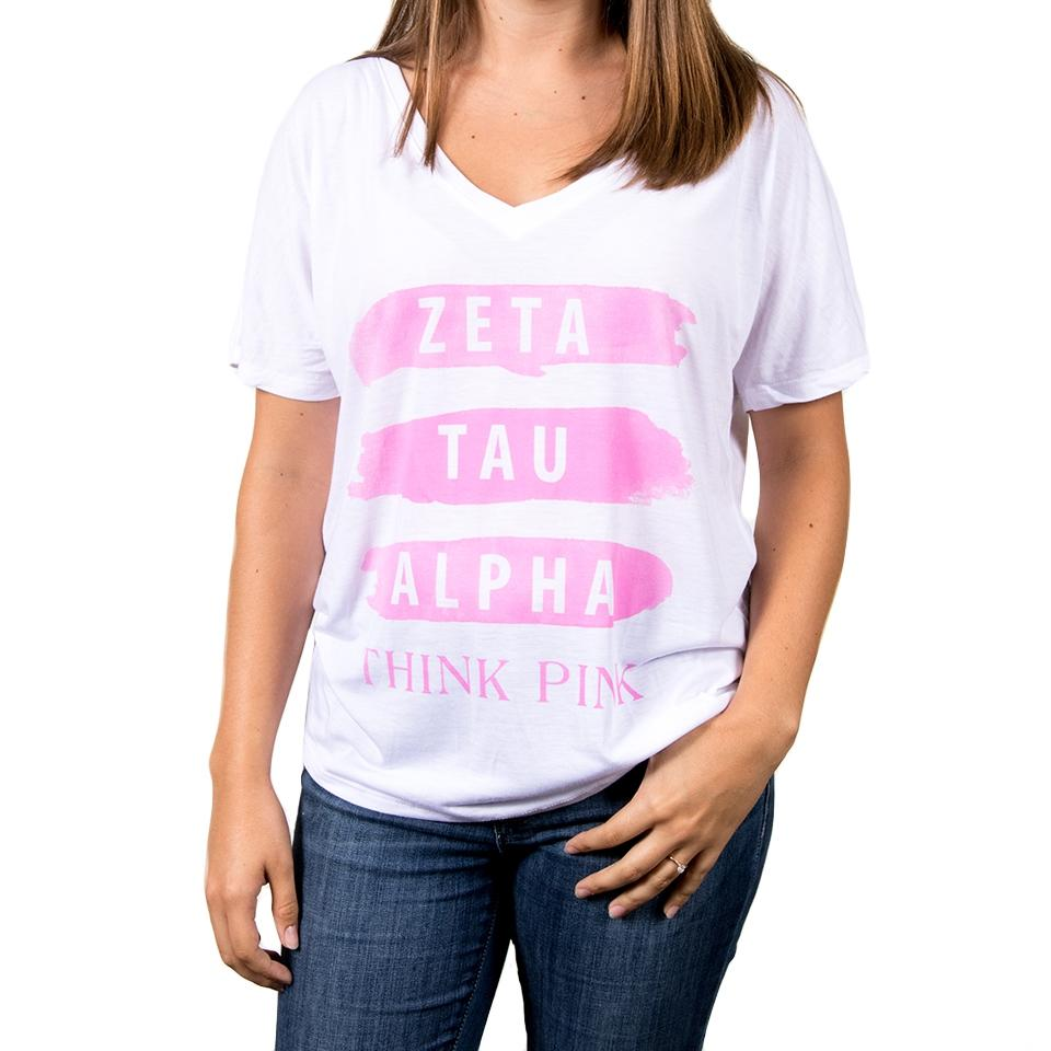 Think Pink Brushed Tee