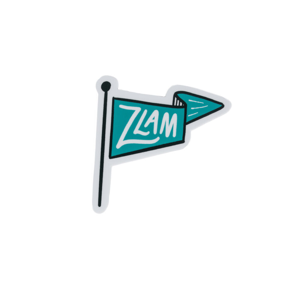 ZTA Pennant Die Cut Sticker