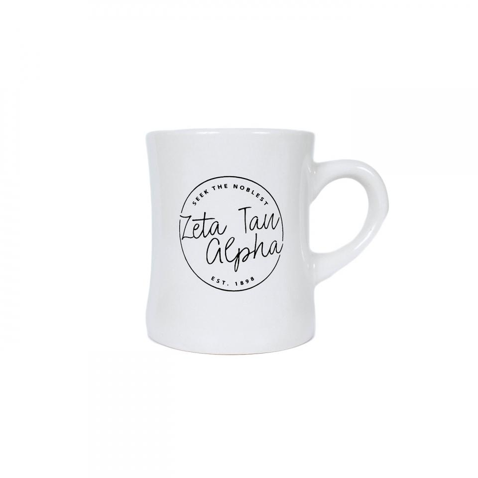 """Seek the Noblest"" Diner Mug"